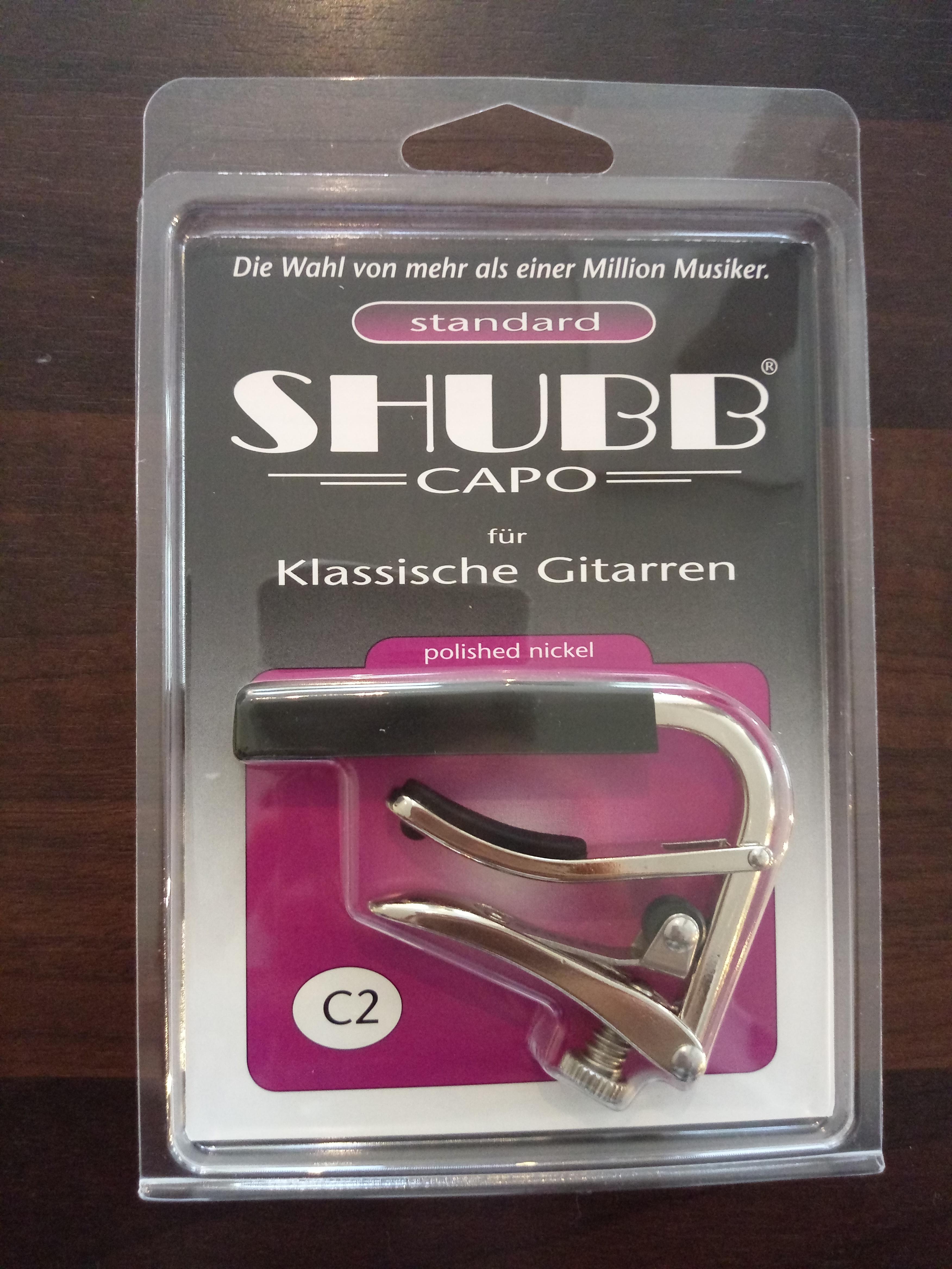 Shubb Kapodaster C2 für Klassische Gitarre